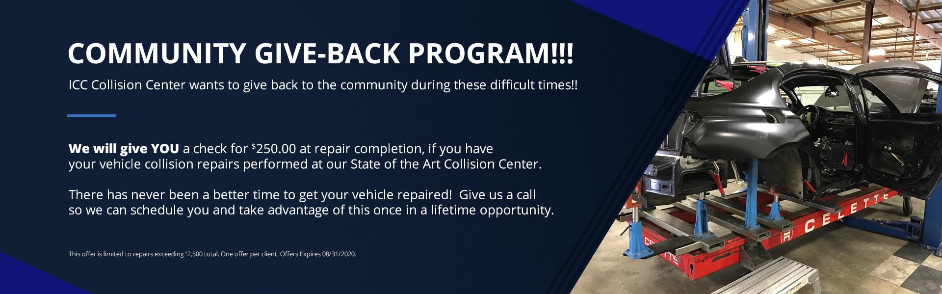 Community Give-Back Program